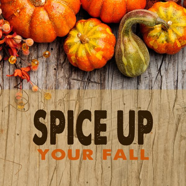 60 Minute Pumpkin Spice Massage